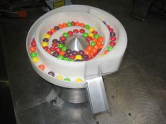 Pill vibratory feeder bowl
